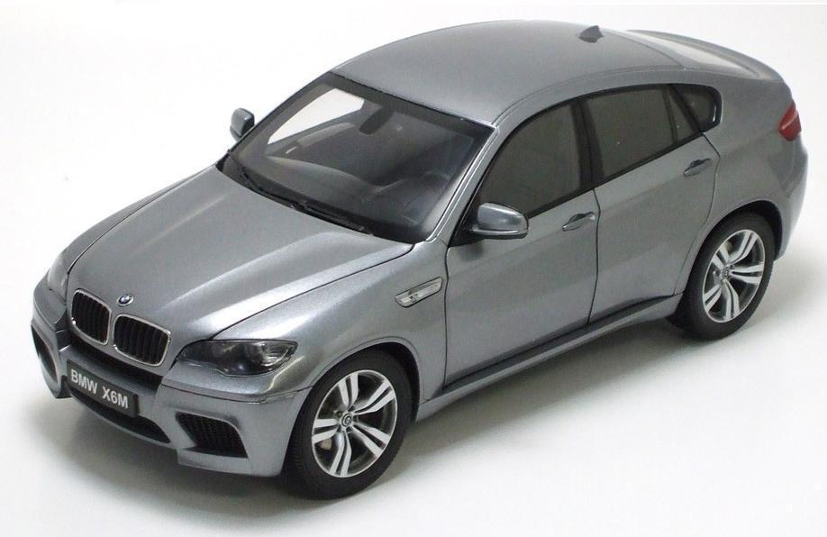 1   18 kyosho bmw m x6 raum grau ein diecast modell auto grau 08762sg