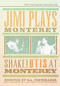 Jimi-Plays-Monterey-Shake-Otis-At-Monterey-Criterion-Coll-DVD-New-Ships-Free-USA