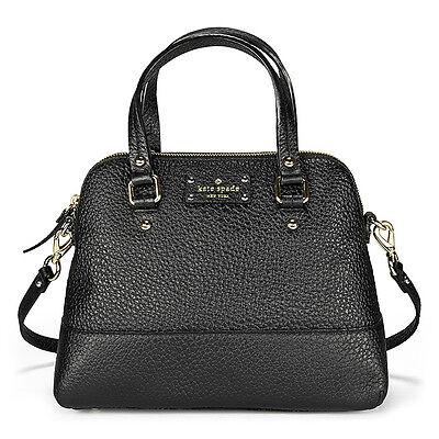 Kate Spade New York Grove Court Maise Crossbody Satchel Bag - Black