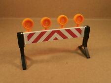 Playmobil Bau Baustelle Absperrung Bauabsperrung #4558