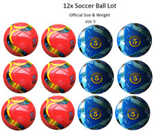 (Lot of 12X) Soccer Balls Size # 5 -indoor/outdoor-Bulk wholesale -new design