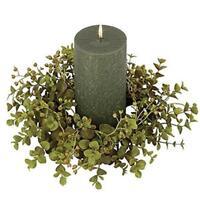 Keystone Eucalyptus Candle Ring 4 Inch