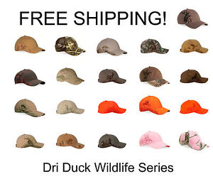 Dri-Duck-Wildlife-Series-Caps-New-with-Tags-Choice-of-Colors-amp-Styles