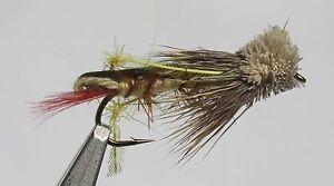 Daves Hopper Assortment; 1 Dozen Trout Fishing Flies