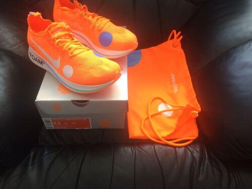 Mercurial Naranja Reino Nike X Fly 2018 5 Zoom 9 Tallas 7 5 Unido Off Nuevo 10 Blanco nx8t8Zqw