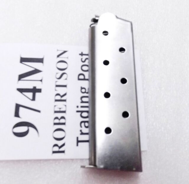 HFC Trpl K Stainless Magazine Fits Colt 1911 Government ty .45 ACP 45 Automatics