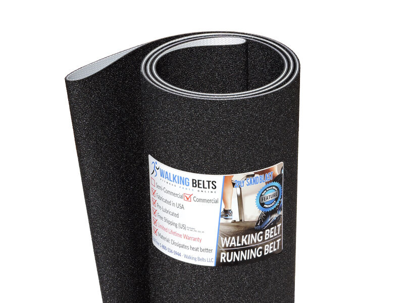 HealthStream T-8800D Treadmill Walking Belt 2ply Sand Blast