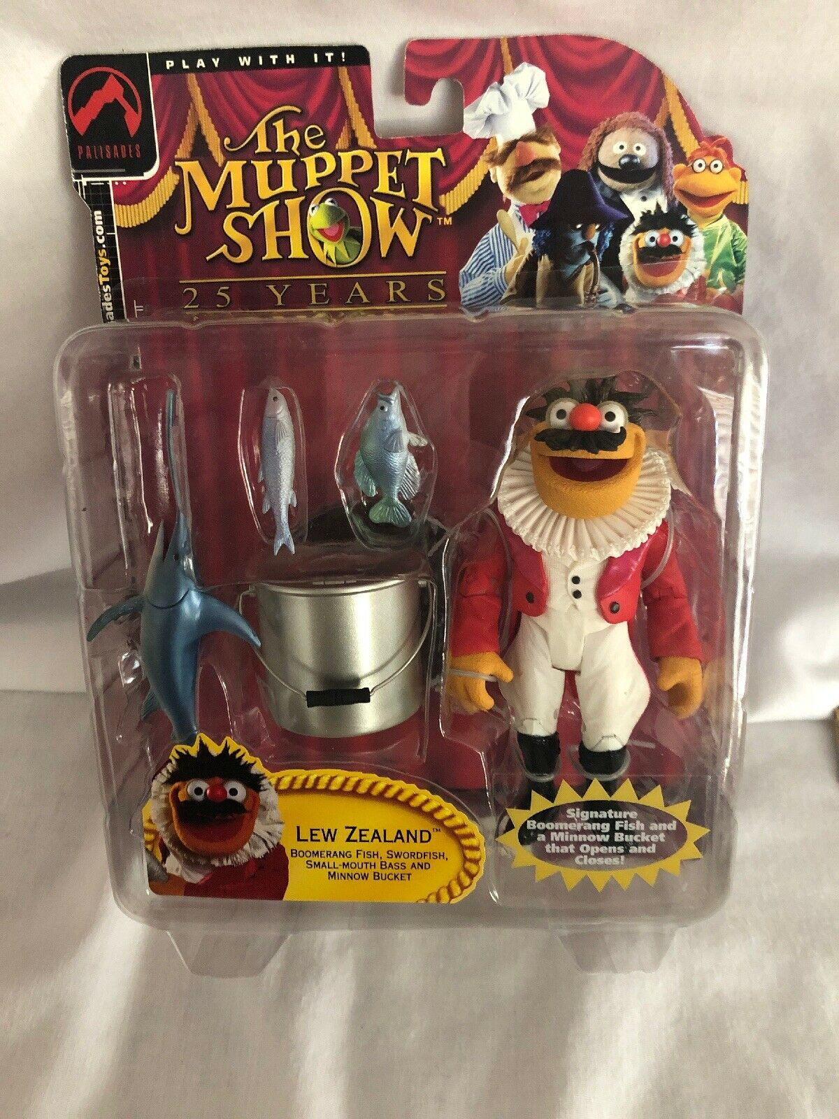 New Palisades Spielzeugs serie 3 The Muppet Show Lew Zealand Figurine