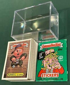 1988 Topps Garbage Pail Kids Original 15th Series 15 NO-DIECUT 88-Card Set OS15