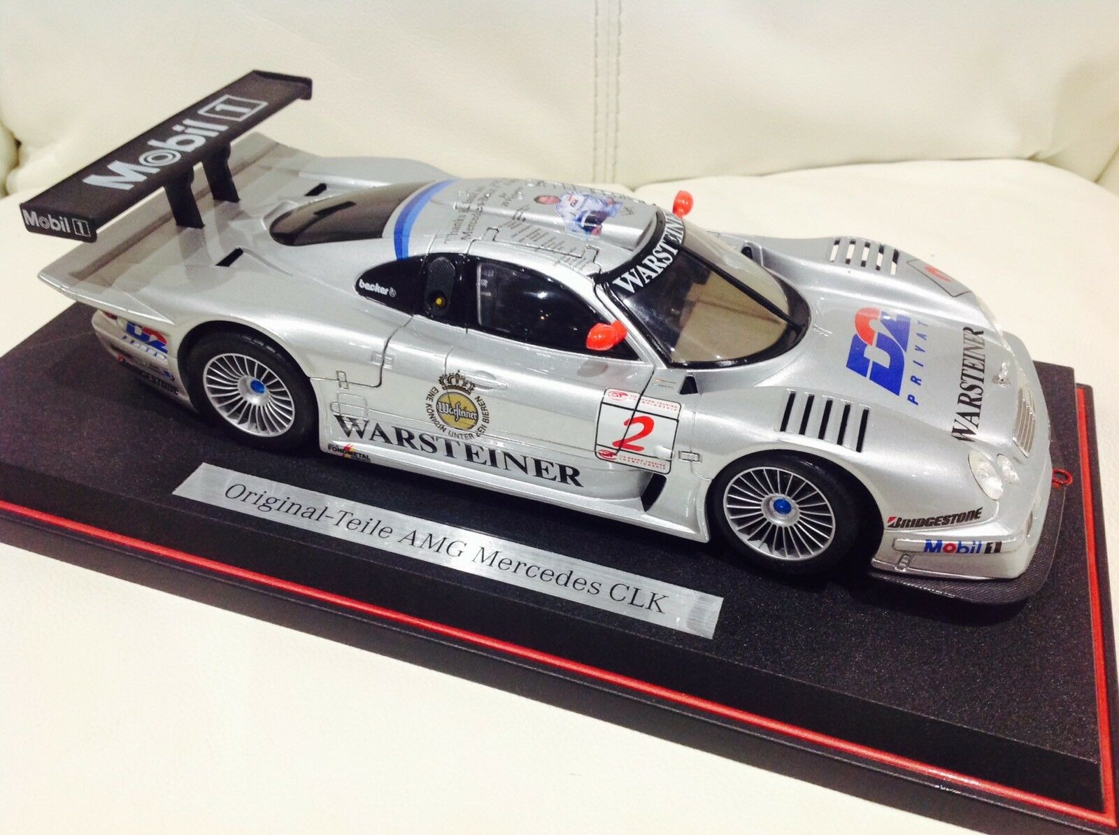 1 1 1 18 SCALE MERCEDES BENZ ORIGINAL TEILE AMG CLK MOTORSPORT EDITION 770ebd