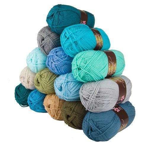 15 X 100g Stylecraft Especial D//K punto tejer hilado de lana//// Crochet Costa ático 24 Pack