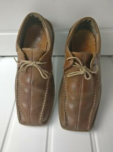 Excellent Shoes 42 Eu Kickers Size 8 Uk Condition Brown Leather qgxxSwE8R