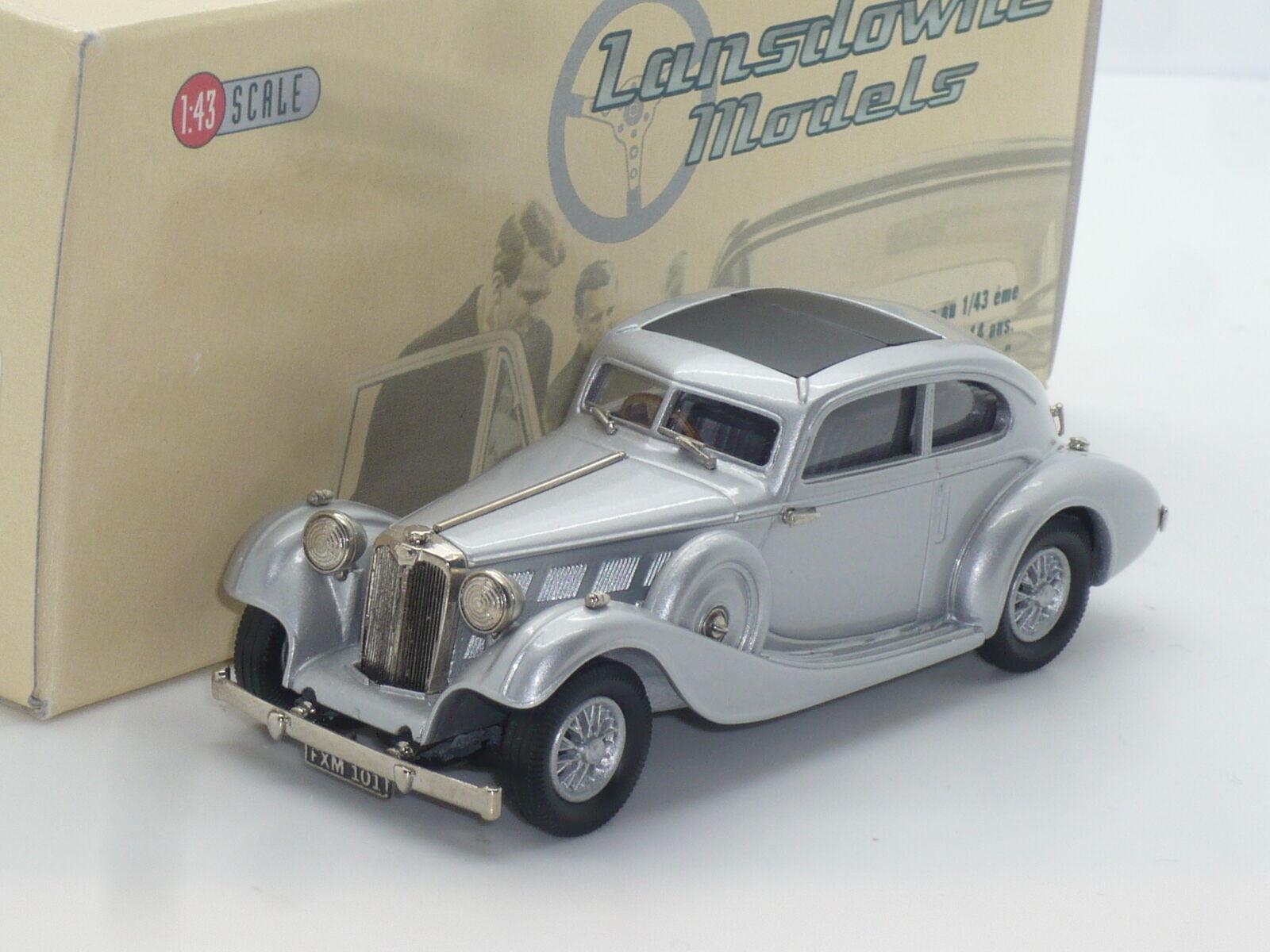 Nuevo 1 43 Lansdowne Modelos LDM29a 1935 Triumph Vitesse flujo libre Brooklin Plata