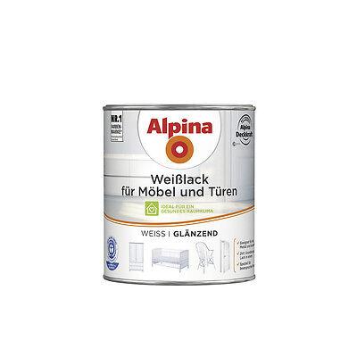 Alpina Weißlack für Möbel und Türen - Hochwertiger Schutz