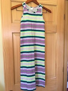 NWT Gymboree Jump Into Summer Striped Maxi Dress Girl 5//6,10//12,14