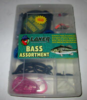 Laker Bass Assortment - Contains A Large Assortment Of Fishing Accessories