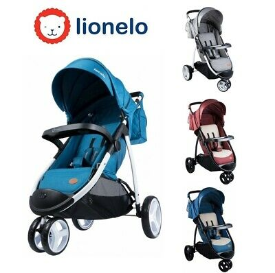 Lionelo Irma Kinder Buggy Kinderwagen Kindersportwagen Babywagen Jogger Grau