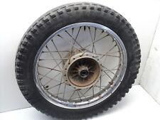 #4064 Yamaha DT250 DT 250 Enduro Chrome Rear Wheel & Tire
