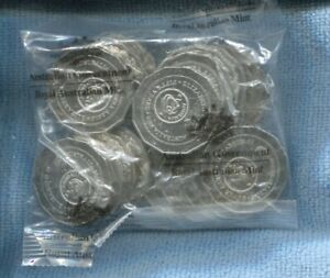 2016 Changeover Change Over RAM Mint Bag of 50 Fifty Cent UNC Coins Sachet