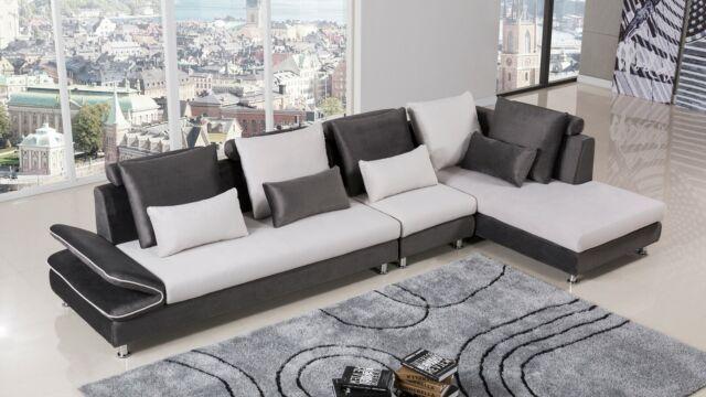 3pc Sofa Set Contemporary Loveseat