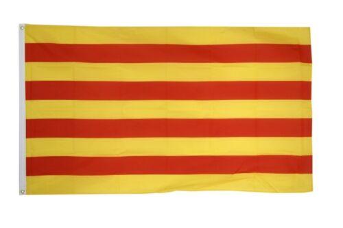 Fahne Spanien Katalonien Flagge katalonische Hissflagge 90x150cm
