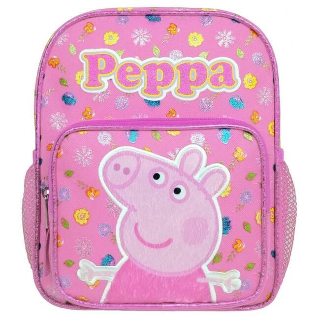 """Peppa Pig 10/"""" Mini Backpack Girl/'s Book Bag"""