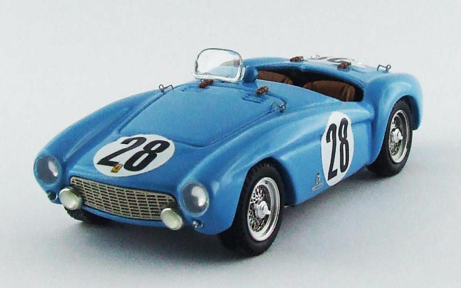 Ferrari 500 Mondial  28 28 28 Winner 12h Reims Picard   Pozzi 1 43 Model 0326 e6b10f