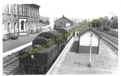 Moat Lane to Rhayader. Dolwen Llanidloes Railway Station Photo Tylwch 7