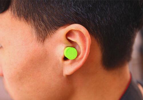 10 Paar Schlafen Lärmschutz Ohrstöpsel Weiche Schaum Ohrstöpsel Konische AA W ec