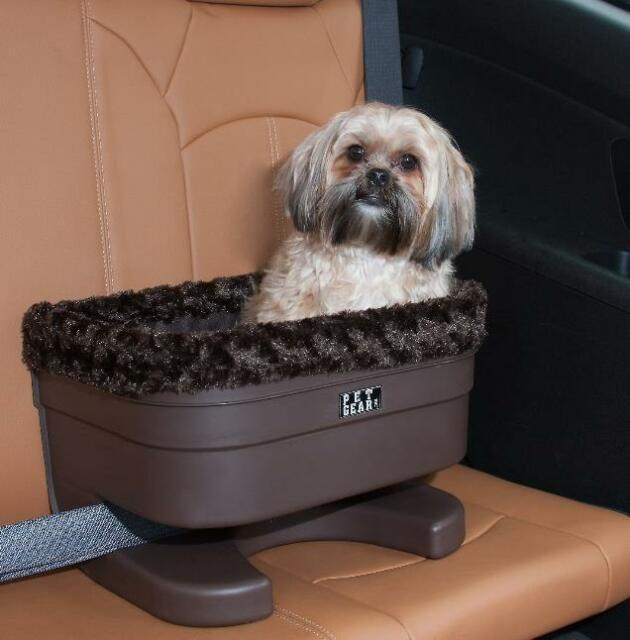 "Pet Gear Pet Bucket Seat Booster 16"" CHOCOLATE PG1117CS"