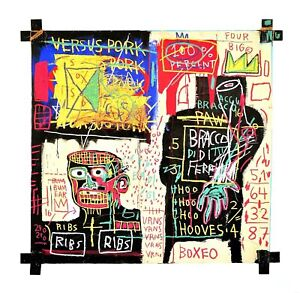 Jean Michel Basquiat The Italian Version Of Popeye