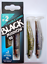 Fiiish-2-9cm-3-54inc-Black-Minnow-Tous-Coloris-Corps-Combos-Crochet miniature 40