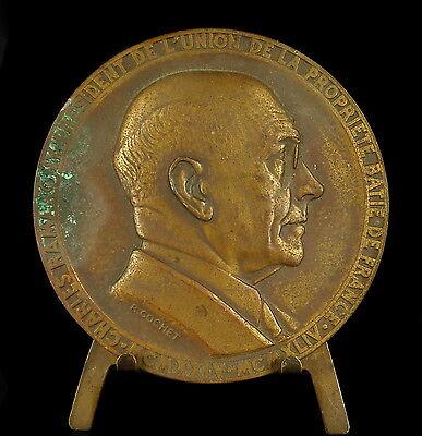 --medaille Charles Ramarony Sc R Cochet 68 Mm La Propriété Batie 140 G Medal