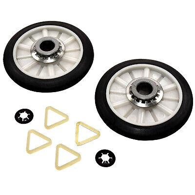Dryer Drum Support Roller Kit for Samsung DV2 DV36 DV40 DV50 DV200 DV300 Series