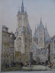 Tournai-Portail-de-la-cathedrale-de-Tournai