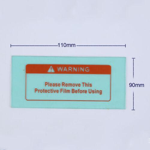10Pcs Solar Auto-Darkening Welding Helmet PC Cover Lens Protective Film Sheet