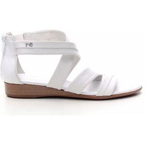 Sandalo donna NeroGiardini P512660D collezione estiva