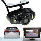 170° CMOS Car Rear View Backup Parking Camera 2 LED HD Night Vision Waterproof