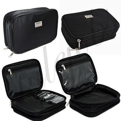 "NYX Large Double Zipper Makeup Bag "" MBG09 """