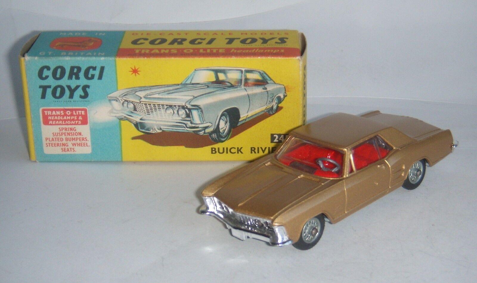 Corgi Toys Nº 245, Buick Riviera, - Excelente Casi Nuevo