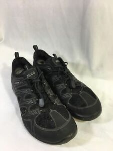Details about ECCO Water Sport SLIP ON MESH WATER SHOES GRAYBLACK MENS Size 42