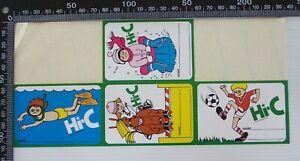VINTAGE-1980s-HI-C-DRINK-EXERCISE-BOOK-NAME-TAG-ADVERTISING-PROMO-STICKER