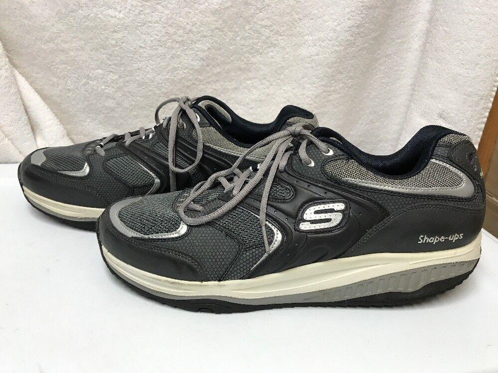 Skechers Sport Men's Shape Ups Xt Talas Fitness Shoe Navy Blue Size US 14