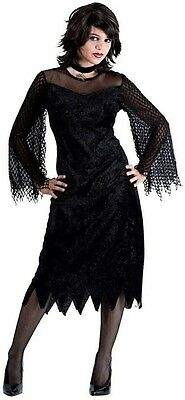 Sexy Gothic Maiden of Darkness Vampire Witch Teen Vamp Costume Teen Small 4/6