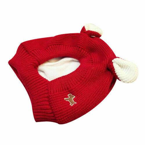 Kids Boy Girl Cute Rabbit Ear Winter Warm Hat Earflap Knit Baby Toddler Cap MW