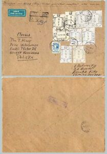 Ukraine-1993-cover-used-Donesk-to-Warsaw-f8053
