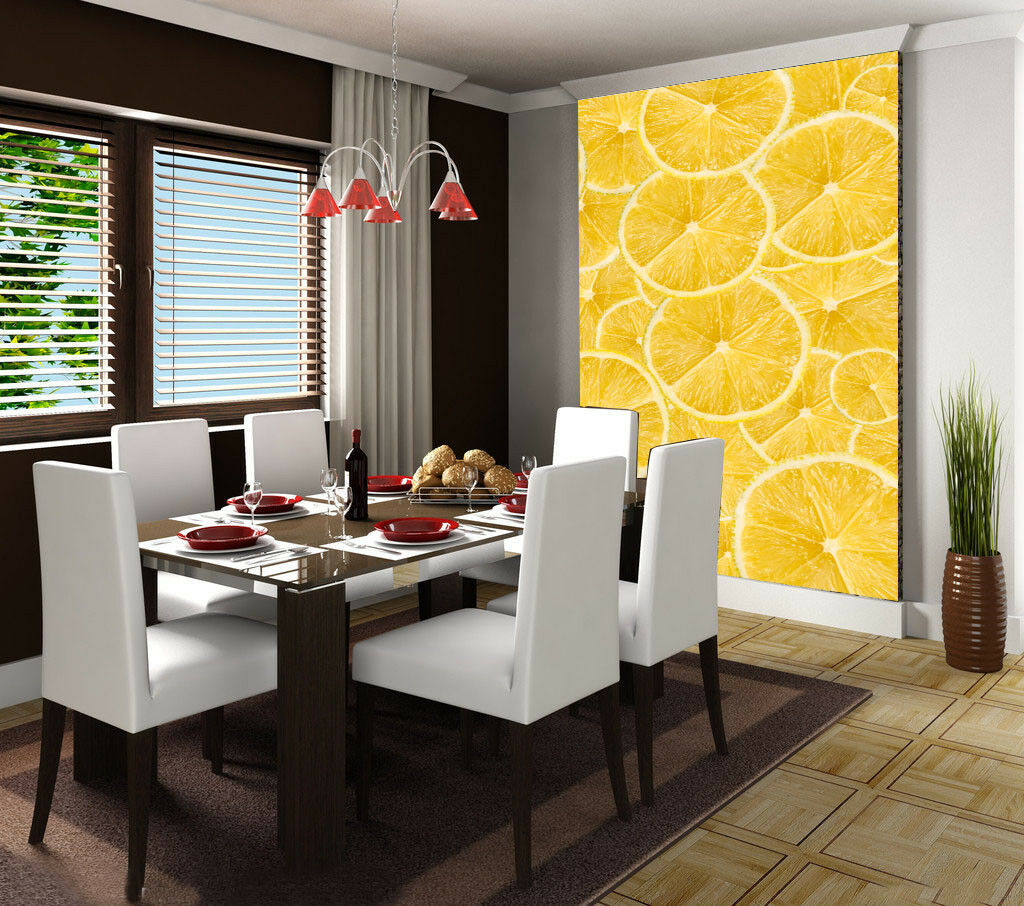 3D Orange Slices 55 Wall Paper Wall Print Decal Wall Deco Indoor Wall Murals