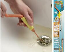 Drain Weasel Sink Cleaner Drain Unblocker for Hair & Waste
