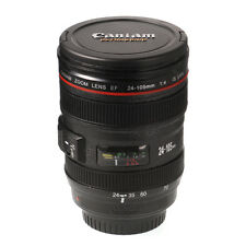 Canon Caniam Thermos Camera Lens EF 24-105mm f/4.0L Travel Tea Coffee Mug Cup