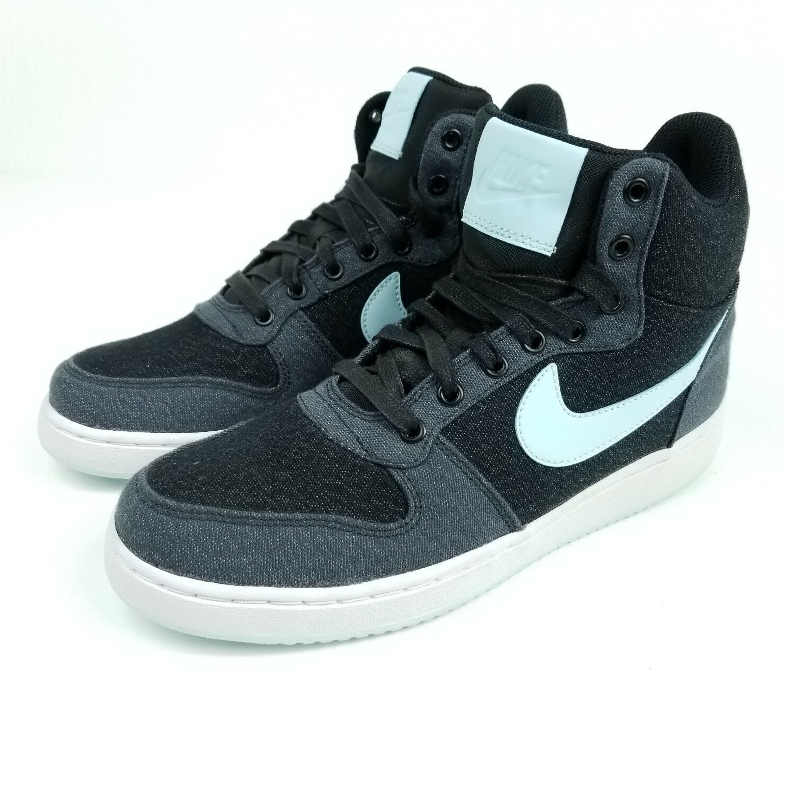 NIKE Court Borough Mid Premium Womens Sz 9 Shoes Black Gray 844907 004 The most popular shoes for men and women